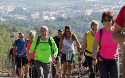 SaludBox participa en un Walkim en Sant Boi de Llobregat: salud y deporte