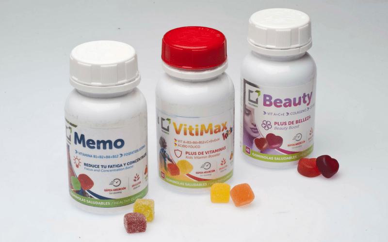 Gummies Gominolas saludables complementos alimenticios SaludBox