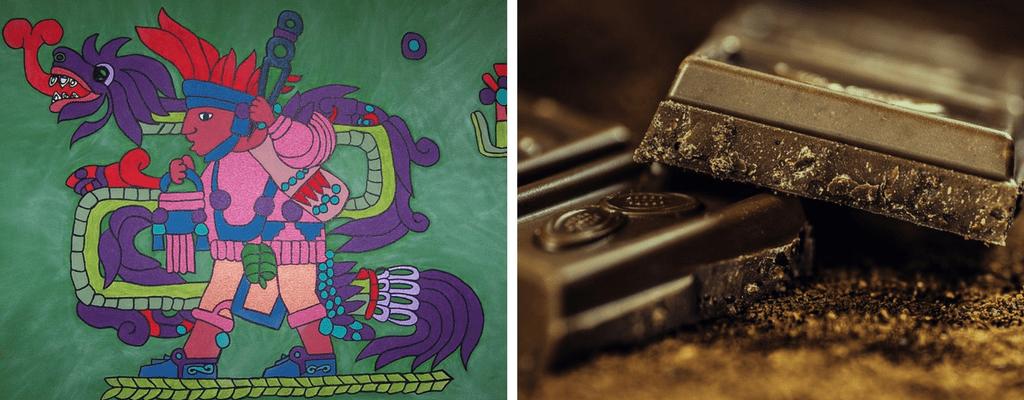 Grageas masticables Probichok: el origen del chocolate