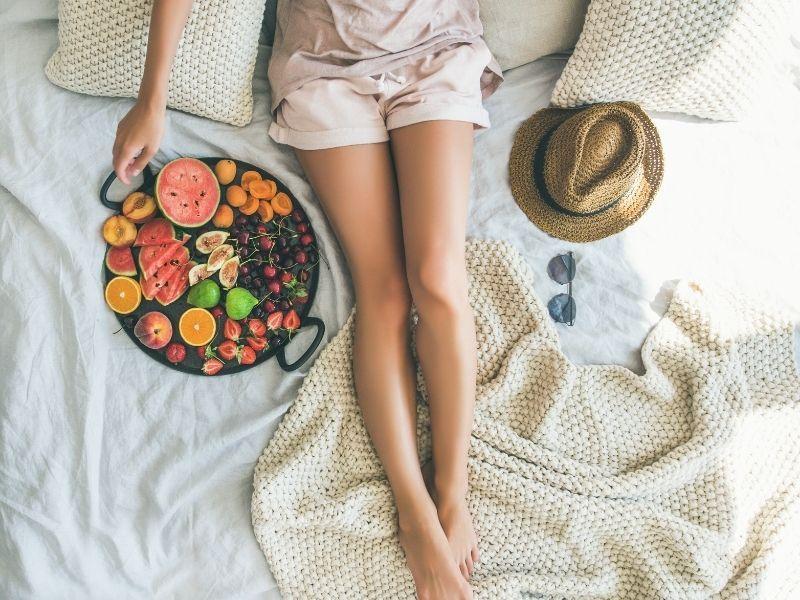 Trucos para no ganar peso en verano
